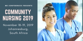 2nd International Conference on Community Nursing and Public Health , Johannesburg,South Africa