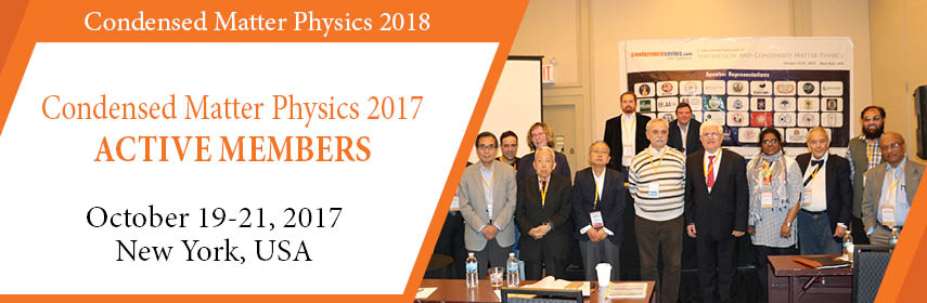 - Condensed Matter Physics 2018