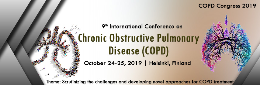 Home Page Banner of 9th International Conference on  Chronic Obstructive Pulmonary Disease (COPD) - COPD Congress 2019