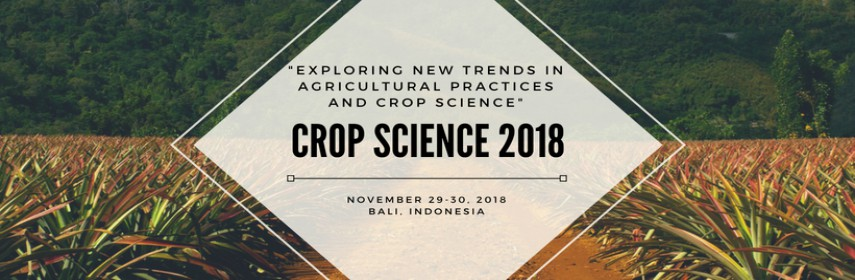 - Crop Science 2018