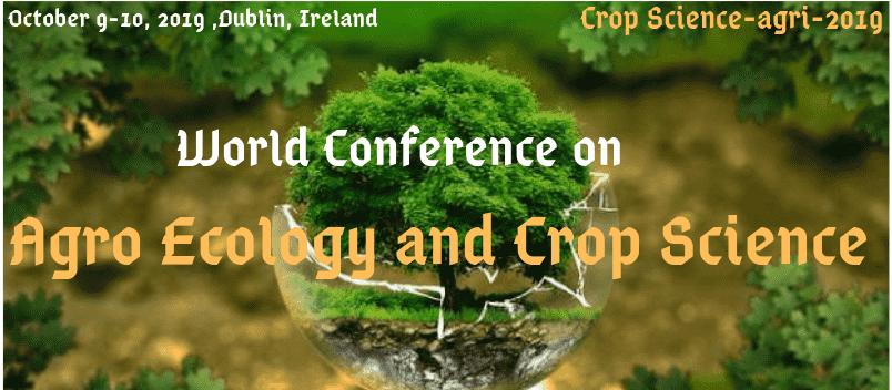 - Crop Science Agri 2019