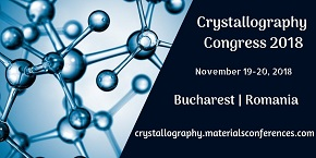 4th International Conference on Crystallography & Novel Materials , Bucharest,Romania