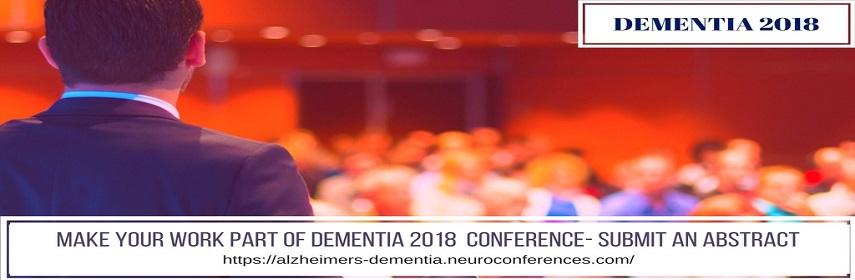- Dementia 2018