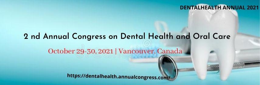 - Dentalhealth Annual 2021