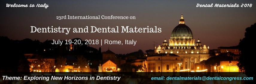 - Dental Materials 2018