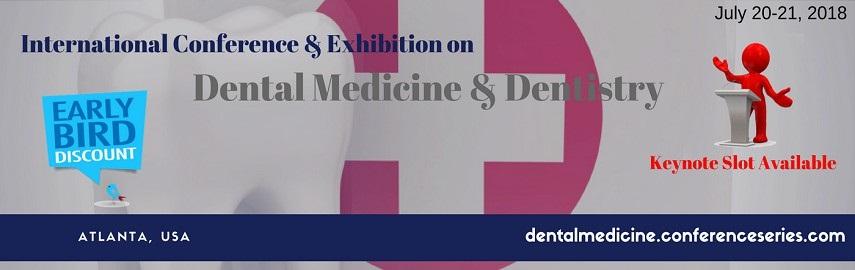 - Dental Medicine 2018