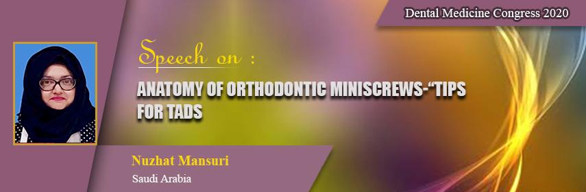 - Dental Medicine Congress 2020