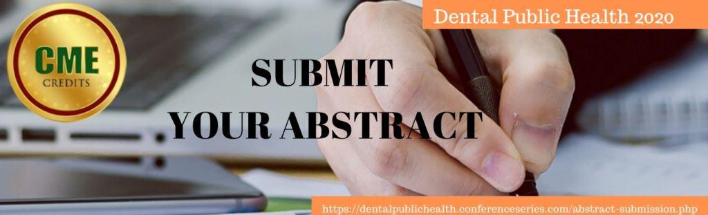 - Dental Public Health 2020