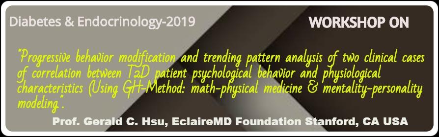 - Diabetes & Endocrinology 2019