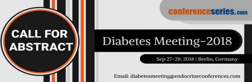 - Diabetes Meeting 2018