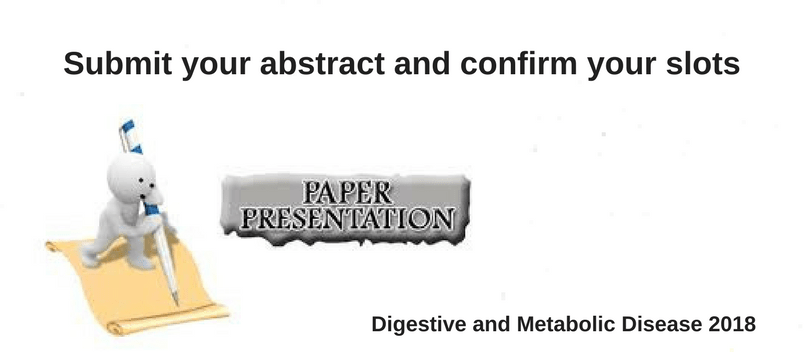 Digestive and Metabolic Diseases Oct 22-24, 2018 | Berlin | Germany - Digestive and Metabolic Diseases 2018