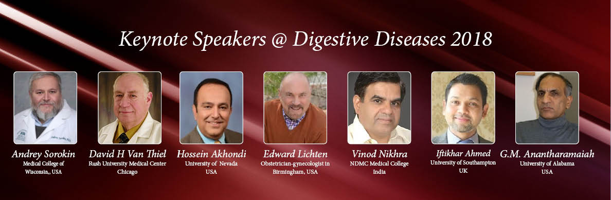 - Digestive Diseases Congress 2018