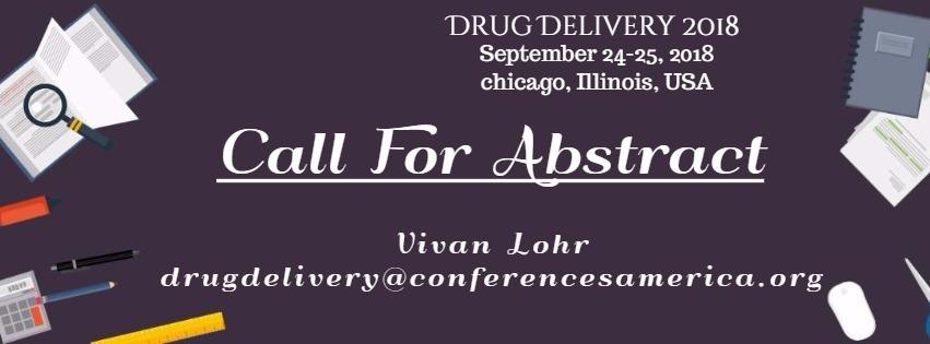 - Drug Delivery 2018