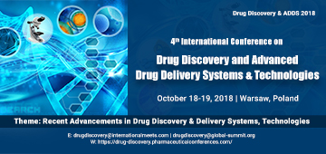 5th International Conference on Drug Discovery and Advanced Drug Delivery Systems & Technologies, Warsaw, Austria