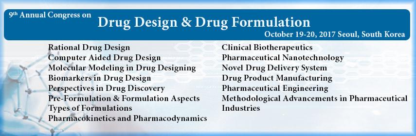 - Drug Formulation 2017