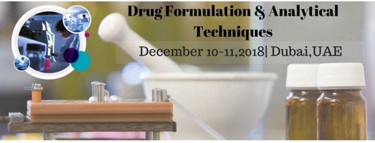 - Drug Formulation 2018