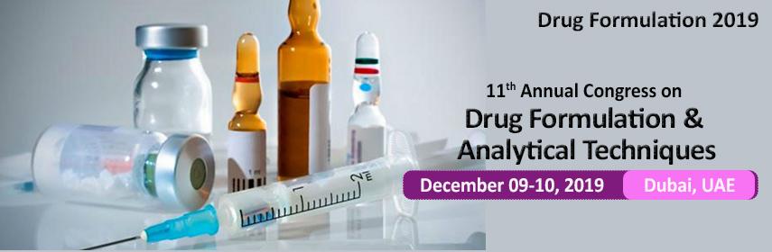 Banner- of-Drug Formulation-2019 - Drug Formulation 2019