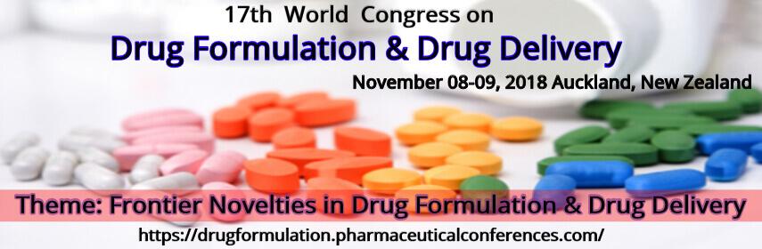 - Drug Formulation Congress 2018