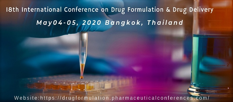 - Drug Formulation Congress 2020