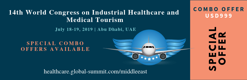 Discounted banner of Medical Tourism Congress and Digital Health Care Conference - Health Congress 2019