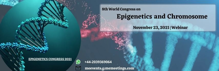 - Epigenetics Congress 2021