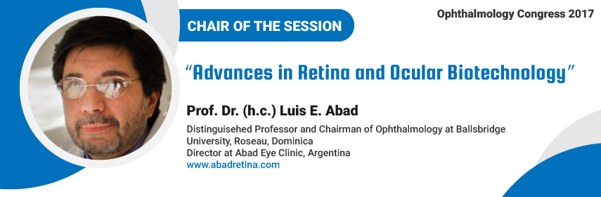 - Ophthalmology Congress 2017