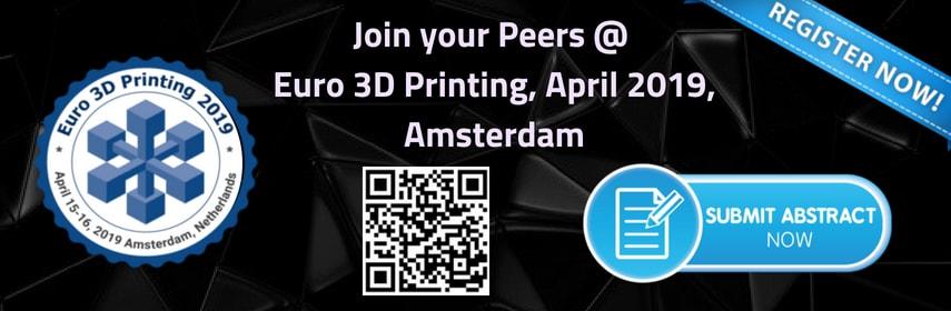 Keynote Speaker   Euro 3D Printing 2019 - Euro 3D Printing 2019