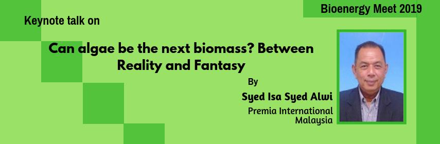 Syed Isa talk in Bioenergy Meet 2019 - Bioenergy Meet 2020
