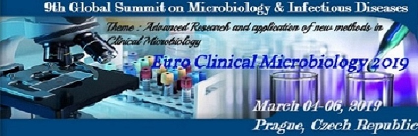- Euro Clinical Microbiology 2019