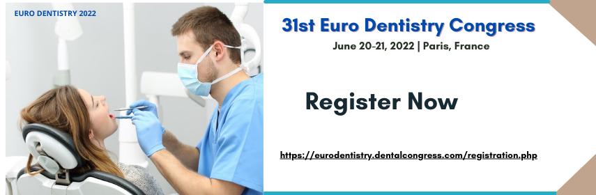 Euro Dentistry 2022 - Euro Dentistry 2022