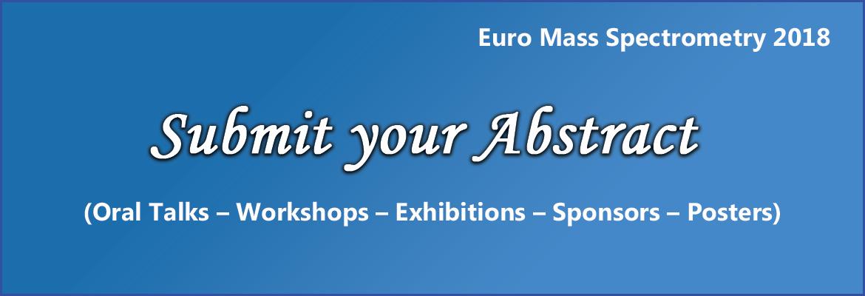 - Euro Mass Spectrometry 2018