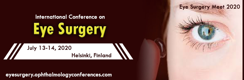 Homepage banner of International Conference on  Eye Surgery - Eye Surgery Meet 2020