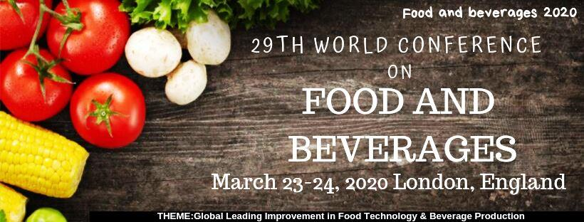 - Food and Beverages 2020