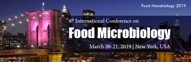- Food Microbiology Conference 2019