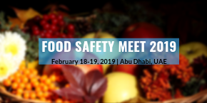 2nd International Conference on Food Safety and Health , Abu Dhabi,UAE