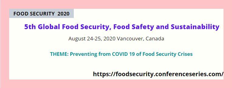 - Food Security 2020