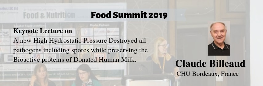 conference banner - Food Summit 2019