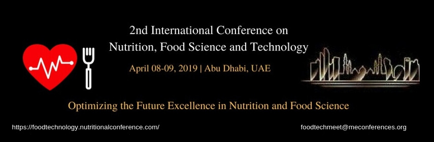 Home Page Banner of Food Technology Congress  - Food Technology Congress 2019