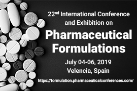 22nd International Conference and Exhibition on Pharmaceutical Formulations, Valencia, Spain