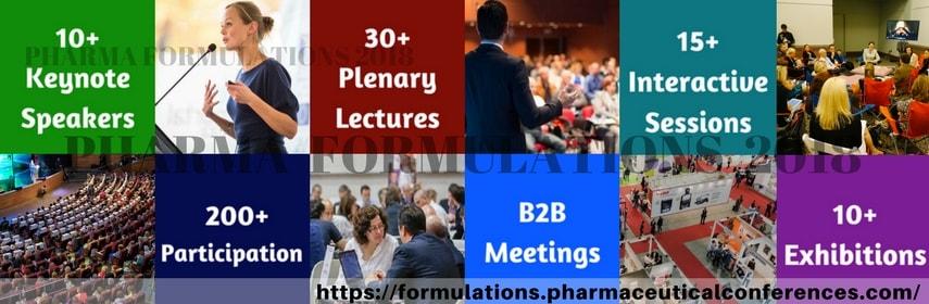 - Pharma Formulations 2018