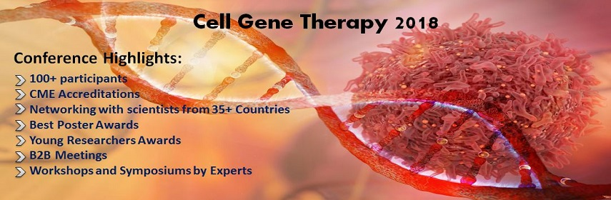 - Cell Gene Therapy 2018