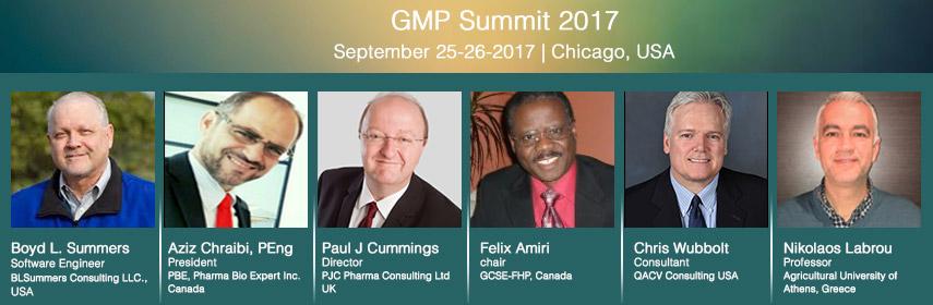 - GMP Summit 2017