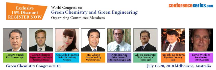 - Green Chemistry Congress 2018
