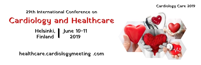 Homepage banner of 29th International Conference on Cardiology and Healthcare - Cardiology Care 2019