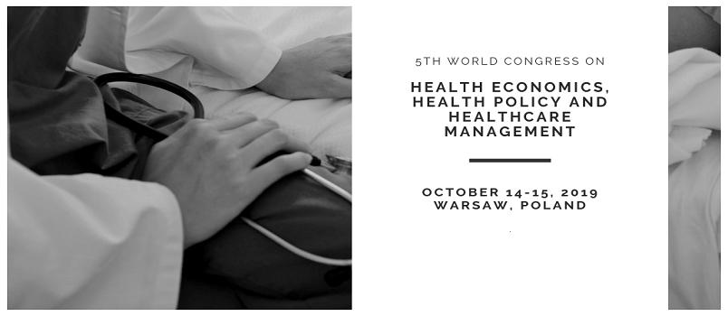 - Health Economics Congress 2019