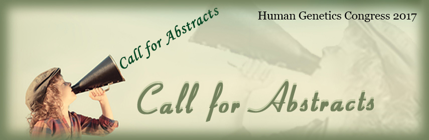 - Human Genetics congress 2017