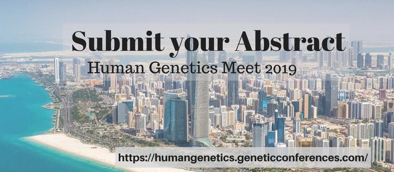 Submit Abstract_Human Genetics meet 2019 - Human Genetics Meet 2019