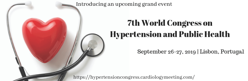 Hypertension Events 2019 | Public Health Congress | Cardiology