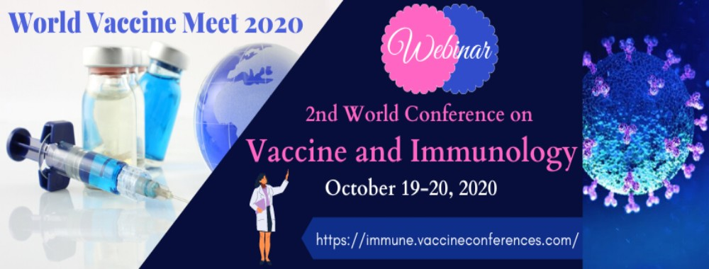 Home Page Banner of 2nd World Conference on Vaccine and Immunology - World Vaccine Meet 2020