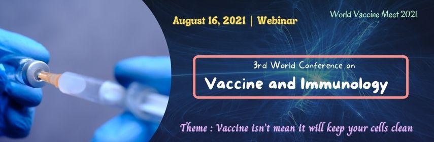 Register Now | WORLD VACCINE MEET 2021 | Webinar - World Vaccine Meet 2021